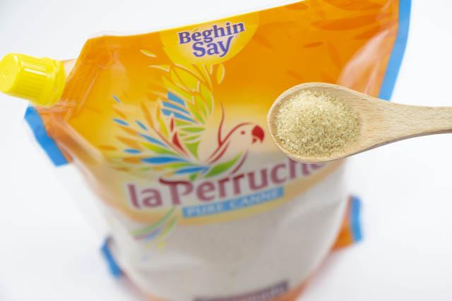 バニラやハチミツの香りがする砂糖「ラ・ペルーシュ・カソナード」