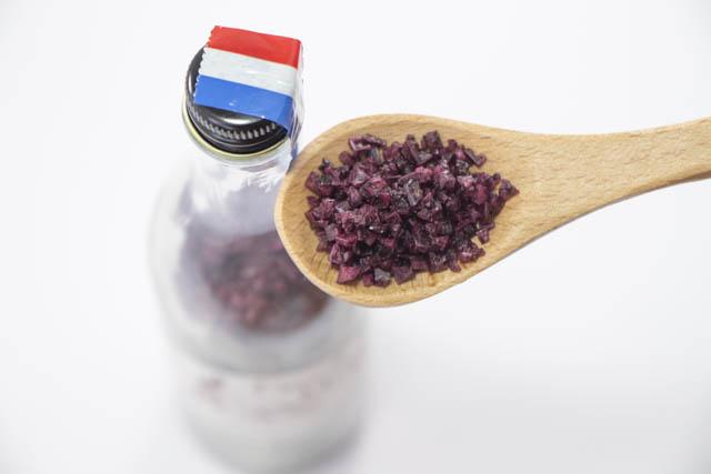 フランス産の赤い塩「ワイン塩」セル・デ・ヴァン メルロー