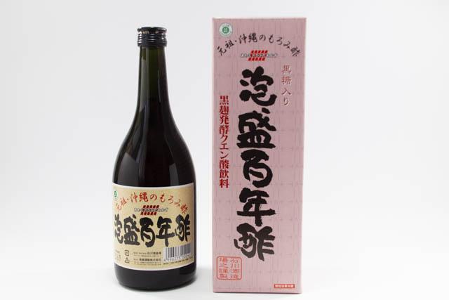 元祖・沖縄のもろみ酢 天然クエン酸豊富に含む「泡盛百年酢」