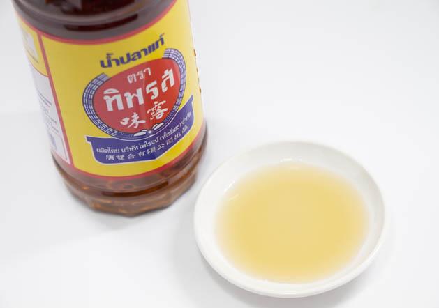 タイ料理に欠かせない定番調味料「ナンプラー」tiparos(ティパロス)